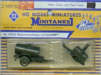 Roco Minitanks 1:87 HO Scale Water Trailer and Mess Trailer #149/50