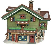 Department 56 Heritage Village Col. Alpine Village Series Sport Laden