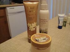 Warm Vanilla Hand Lotion, Hydrating Foot Cream, Body Butter, & Foot Scrub