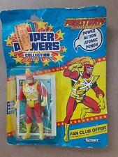 Super Powers Firestorm 1985 Kenner DC Comics Action Figure Sealed Damage Package