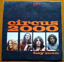 "CIRCUS 2000 PS 7""45 Hey Man (RIFI) ITALIAN PROG ROCK - SPAIN ONLY COVER - PROMO"