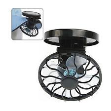Sun Solar Powered Cooling Fan Clip-On Mini Solar Panel Cell Beach Outdoors