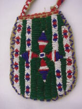 Beautiful Antique Plains Beaded Bag