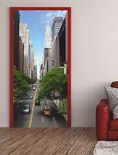 "Türposter ""Chrysler House"" Türaufkleber Türfolie Türtapete New York USA 121"