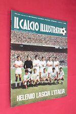 Rivista Sportiva IL CALCIO ILLUSTRATO Anno 1971 Numero 10