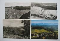 TODTNAUBERG Schwarzwald AK Lot 4 x Postkarte 50/60er Jahre Ansichtskarten