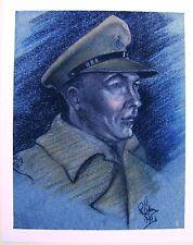 Petits portraits WWII un droit face à majeur raoc Robert LYON exhb 1935-40