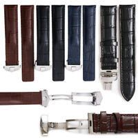 20mm Alligator Embossed Leather Watch Band Strap Made For MOVADO Connect Watches