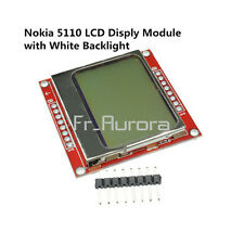 84*48 LCD Module With White Backlight Adapter PCB 84X48 For Nokia 5110 Arduino