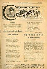 Cordelia. Giornale per le signorine. Ida Baccini