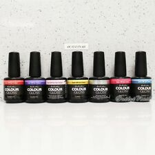 Artistic Nail Design Colour Gloss SET OF 7 ACG Colors Gel Lot Kit 0.5 oz