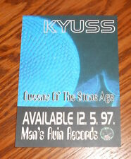 Queens of the Stone Age Kyuss Postcard 1997 Promo 3.75x5.25 Man's Ruin Records