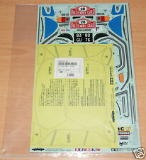 Tamiya 58168 Alpine A110/M02/M05Ra/M06, 9495232/19495232 Decals/Stickers, NIP