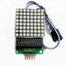 MAX7219 DOT LED MATRIX MODULE MCU CONTROL LED DISPLAY MODULE&WIRE FOR ARDUINO NT