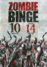 NEW Zombie Binge: 10-Movie Collection (2-DVD) 14 Hours of Halloween Horror Cult