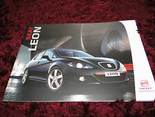 Seat Leon Brochure 2006 - 06/06 inc FR