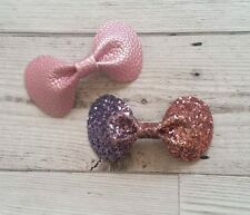 Pinch Bow Plastic Bow Template 2 Pcs  - Hair Bow Making / Crafts