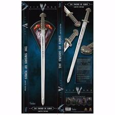 VIKINGS OFFICIAL TV LICENSED LIMITED EDITION  SWORD OF THE KINGS