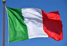Bandiera Italia Tricolore Italiana 60 X 90 cm Nazionale Tessuto 1 laccio nuova