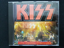 Kiss - Alive, And Still Fucking Loud - Live In New York 1996 CD - Very Rare !!!