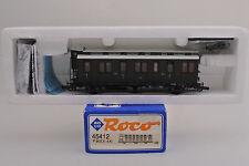 ROCO HO SCALE 45412 P.St.E.V.4Kl 4th CLASS 3 AXLE PASSENGER CAR    -A