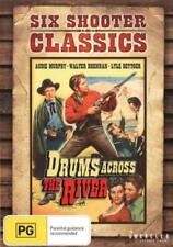 DRUMS ACROSS THE RIVER ( AUDIE MURPHY ) DVD NEW AND SEALED