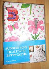 Graziela flores ropa de cama nuevo embalaje original vintage 70er tela Flower Fabric 70s bedlinen