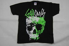 GALLOWS SKULL YOUTH T SHIRT 7-8 YEARS NEW OFFICIAL GREY BRITAIN ORCHESTRA WOLVES