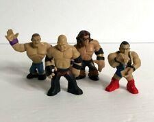 WWE Mattel Wrestling Rumblers Mini Action Figures Lot of 4 John Cena