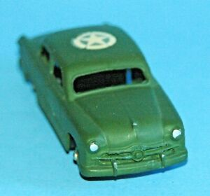 DINKY TOYS Meccano England original 1954 FORD FORDOR United States Army #675