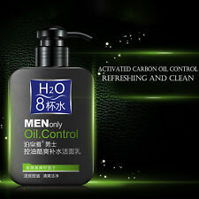 Man oil-control face cleaner pore cleaner face wash Moisturizing Skin Care 168g