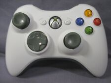 Xbox 360 WIRELESS CONTROLLER Only White TESTED Official Microsoft