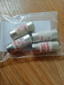 30 amp fuse. BS1361.fuses for fuse box distribution board. Pack of four. New