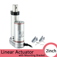 2Inch Stroke Linear Actuator 12V Volt DC Motor with Mounting Bracket 2