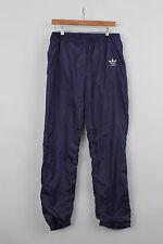 VINTAGE ADIDAS ANNI 1990 tuta da ginnastica rintracciante Inferiore Pantaloni M 130