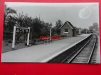 2 Alcester Railway Station Photo.Wixford to Coughton and Great Alne Lines.