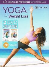 YOGA FOR WEIGHT LOSS (DVD SET) Calorie Killer workouts GAIAM Colleen Saidman Yee