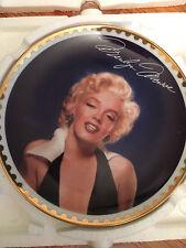 Hamilton Collection- Maryilyn Monroe collector plate set of 3- Rare plates