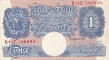 1940-48 Geat Britain 1 Pound Note, Pick 367a