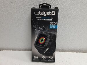 Catalyst Waterproof Case For Apple Watch 42mm Series 2 and Series 3 (Black)