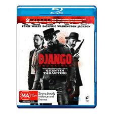 Django Unchained Blu-ray Brand New Region B Aust. - Jamie Foxx - Free Post