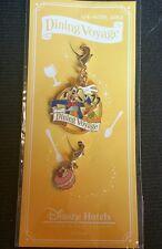 Japan Tokyo Disneyland Tdl Dining Voyage - Goofy & Macaron Pin Lanyard Charms
