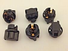 "6x 3/8"" Instrument Panel Dashboard Light Bulb Sockets 9mm Cluster Lamp For Lexus"
