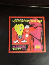 Queens of the stone age Single 3's & 7's Vinyl Rock Metal Mint Rare