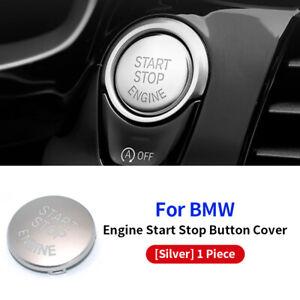 Engine Start Stop Switch Button Replace Cover For Bmw E60 E70 E90 E92 Z4 Silver
