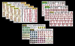 N Gauge N Scale Model Railway Signs Signage - Various Styles & Types