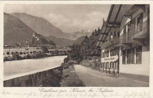 Kufstein in Tirol, Gasthaus zur Klause glum 1930? E6333