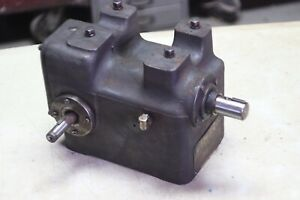 Lempco RF Reamer Drive right angle gear reduction drive