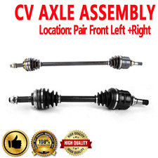 Front CV Joint Axle Shaft Pair Set For CHEVROLET NOVA ,GEO PRIZM ,TOYOTA COROLLA