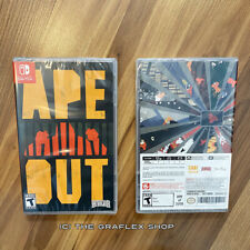 Ape Out Nintendo Switch Physical - BRAND NEW! - Special Reserve Limited Run